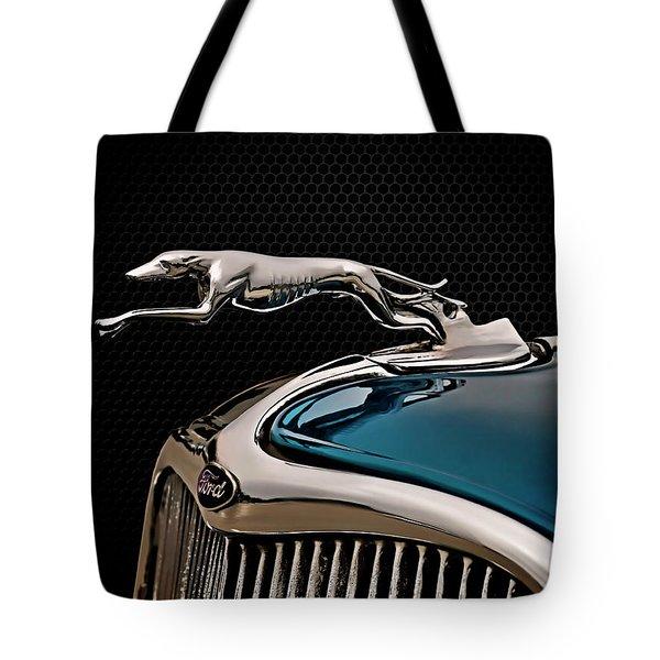 Ford Blue Dog Tote Bag by Douglas Pittman