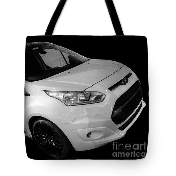 Ford Connect Van Tote Bag by Vicki Spindler
