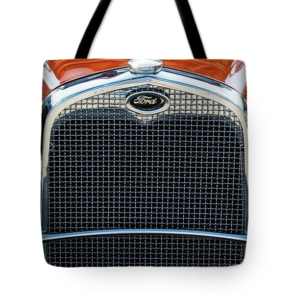 Tote Bag featuring the photograph Ford Coupe by Brad Allen Fine Art