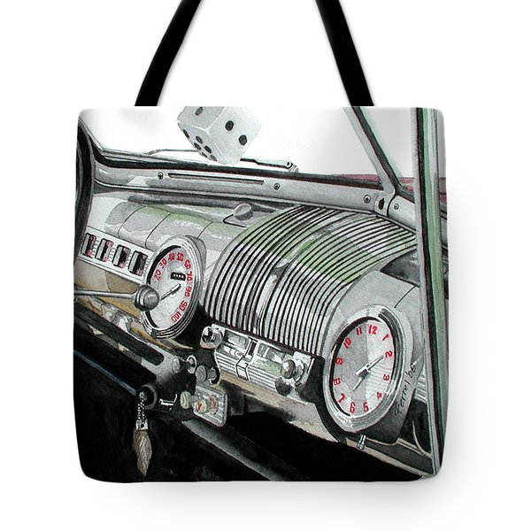 Ford Dash Tote Bag
