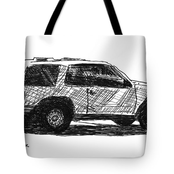 Ford Explorer Tote Bag