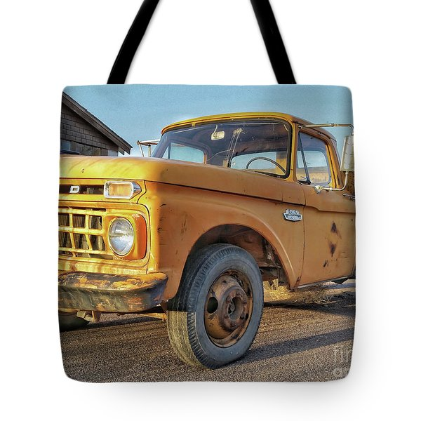 Ford F-150 Dump Truck Tote Bag