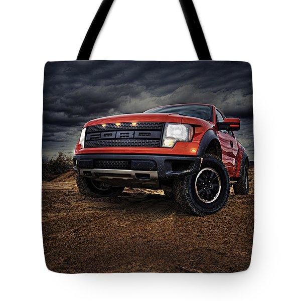 Ford F 150 Raptor  Tote Bag