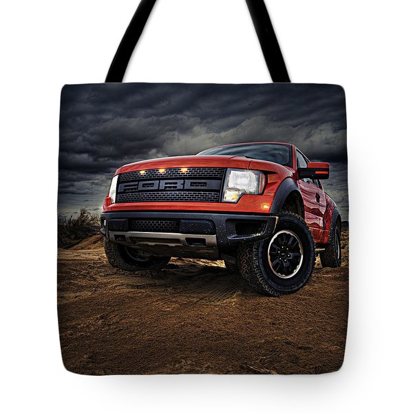 Ford F 150 Raptor  Tote Bag
