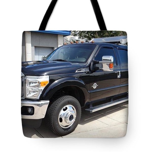 Ford F-350 Tote Bag