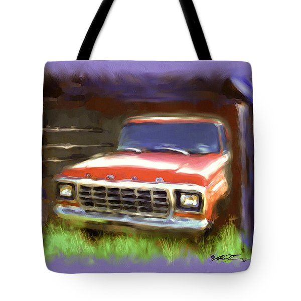 Ford F150 Tote Bag