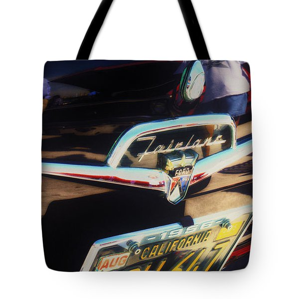 Tote Bag featuring the photograph Ford Fairlane by Michael Hope