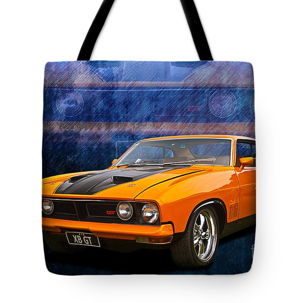 Ford Falcon Xb 351 Gt Coupe Tote Bag