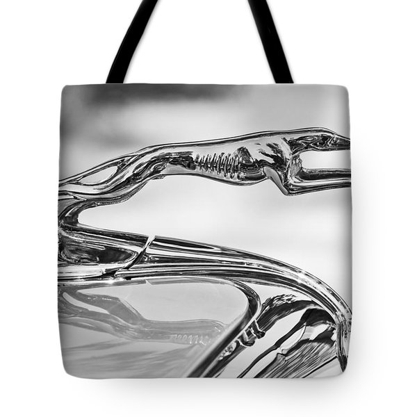 Ford Greyhound Hood Ornament 2 Tote Bag by Jill Reger