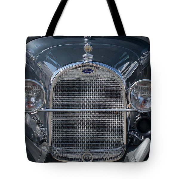 Ford Grill Tote Bag