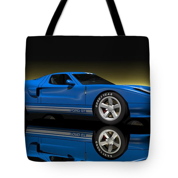 Ford Gt40 Tote Bag by Walter Colvin