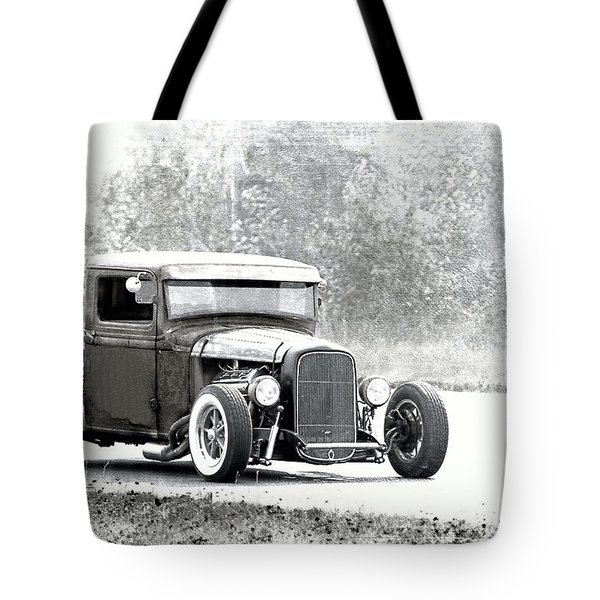 Ford Hot Rod Tote Bag
