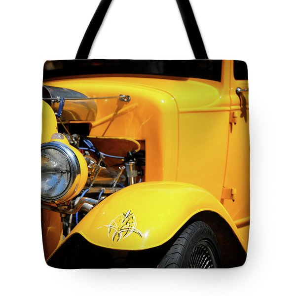 Tote Bag featuring the photograph Ford Hot-rod by Jeremy Lavender Photography
