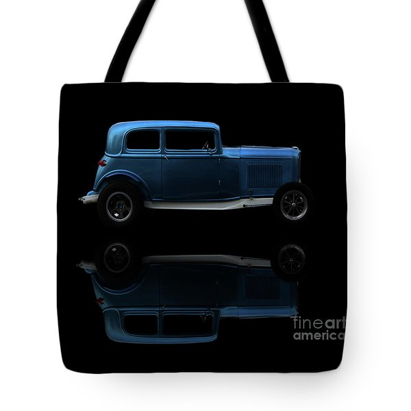 Ford Hot Rod Reflection Tote Bag