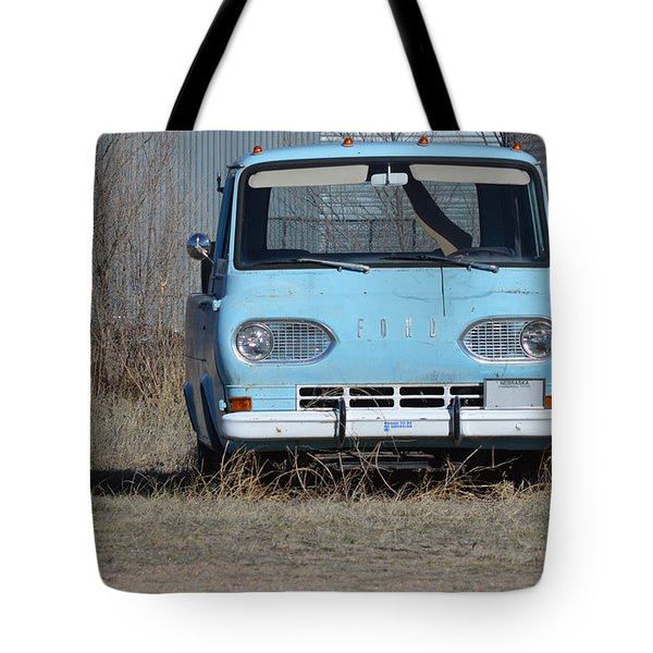 Ford Light Blue Tote Bag
