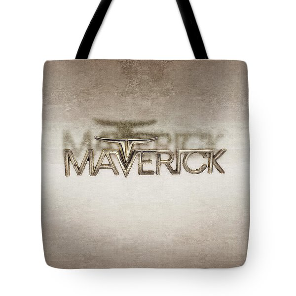 Ford Maverick Badge Tote Bag