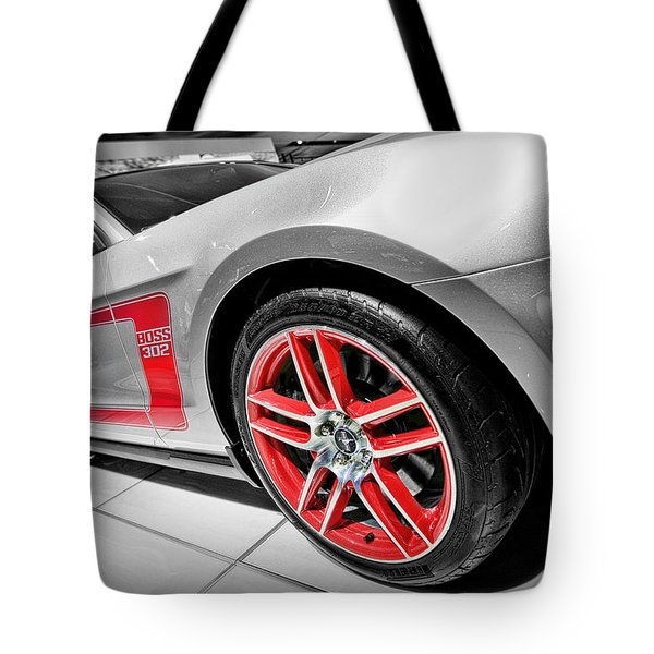Ford Mustang Boss 302 Tote Bag