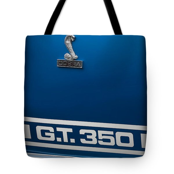 Ford Mustang G.t. 350 Cobra Tote Bag