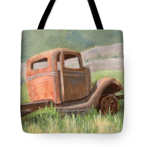 Ford On The Range Tote Bag