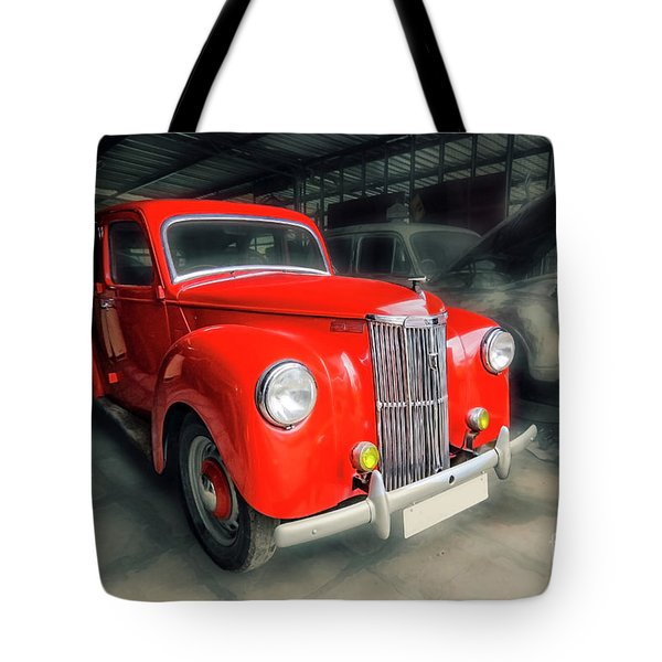 Tote Bag featuring the photograph Ford Prefect by Charuhas Images