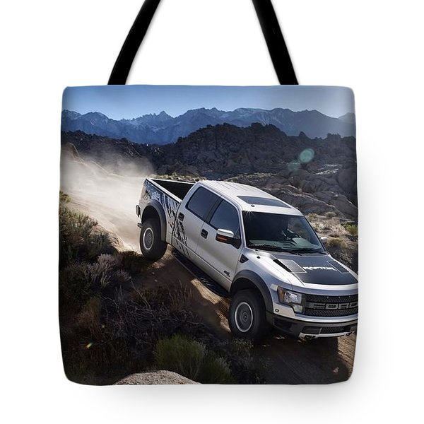 Ford Raptor Tote Bag