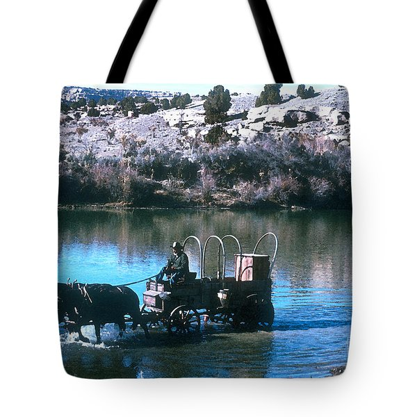 Ford The River Tote Bag by Jerry McElroy