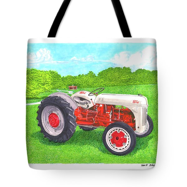 Ford Tractor 1941 Tote Bag by Jack Pumphrey