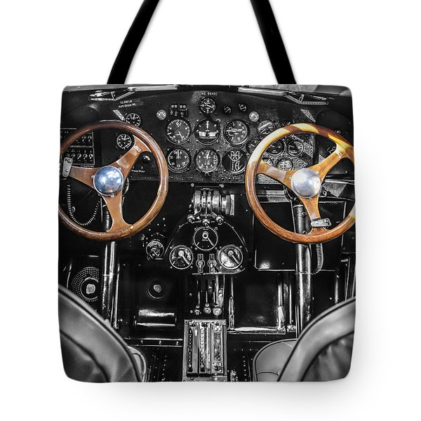 Ford Trimotor Cockpit Tote Bag