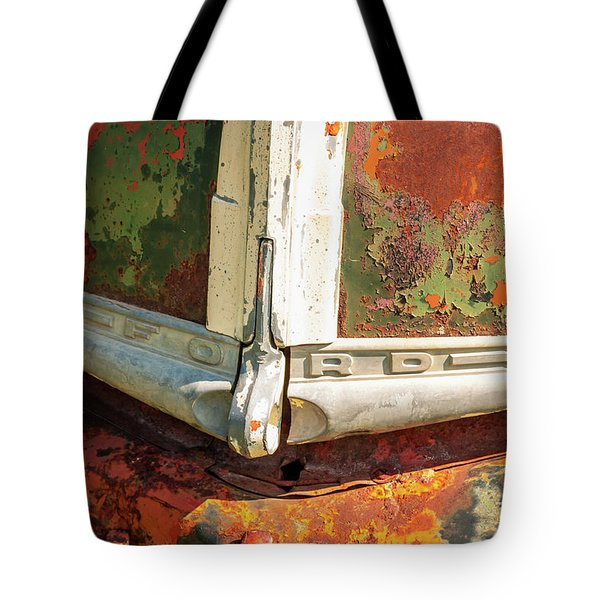 Tote Bag featuring the photograph Ford Truck by Jeff Phillippi