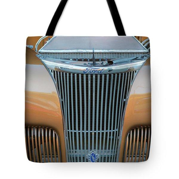 Ford V8 Tote Bag