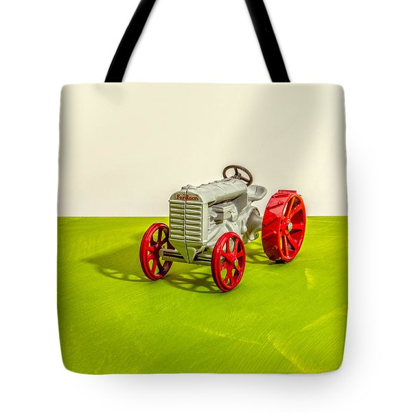 Fordson Tractor Profile Tote Bag