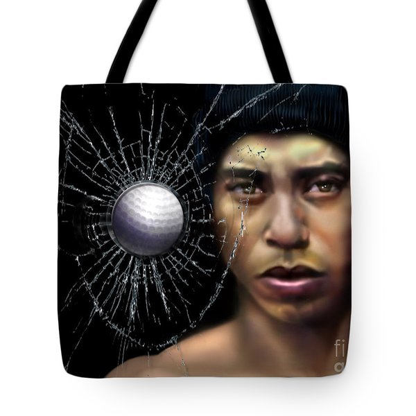 Fore-wood Tote Bag by Reggie Duffie
