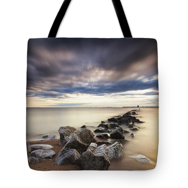 Forecast Calls For Cloudy Skies Tote Bag