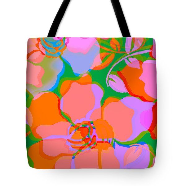 Forella In Pink Tote Bag