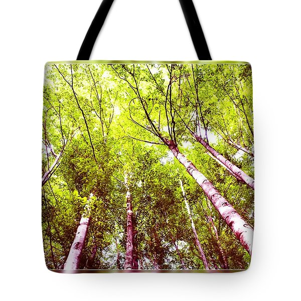 Tote Bag featuring the photograph Forest 2 by Jean Bernard Roussilhe