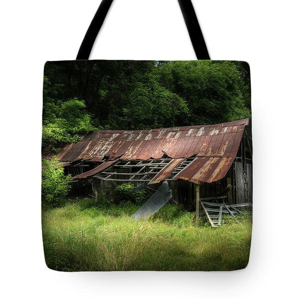 Forest Barn Tote Bag