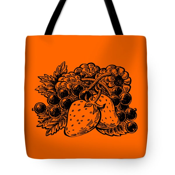 Forest Berries Tote Bag