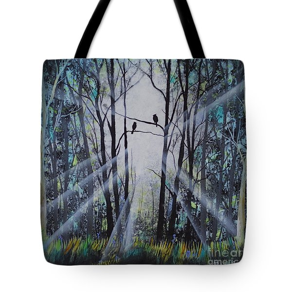 Forest Birds Tote Bag