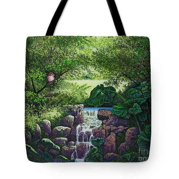 Forest Brook Iv Tote Bag by Michael Frank