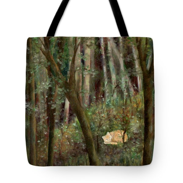 Forest Cat Tote Bag
