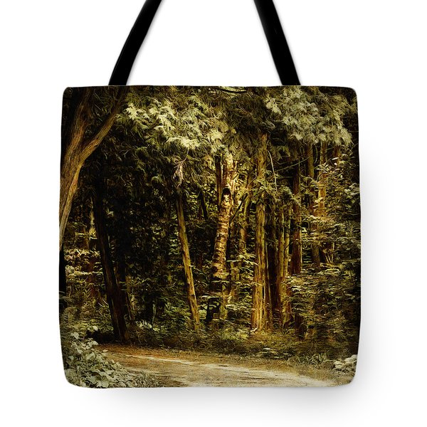 Forest Curve Tote Bag