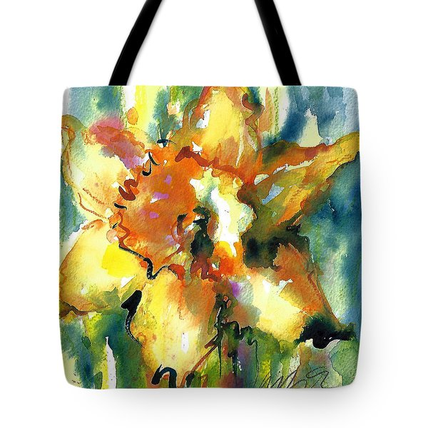Forest Daffodil The Prayer Tote Bag