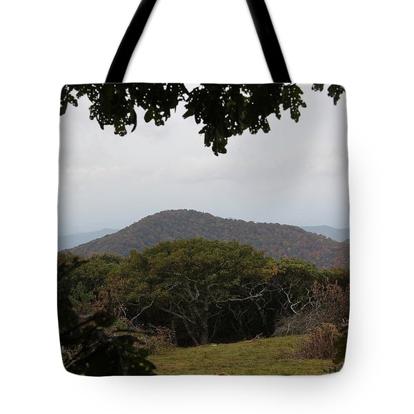 Forest Dark Space Tote Bag