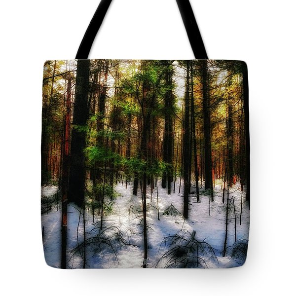 Forest Dawn Tote Bag