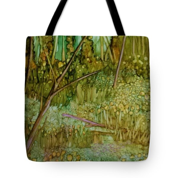 Forest Deep Tote Bag