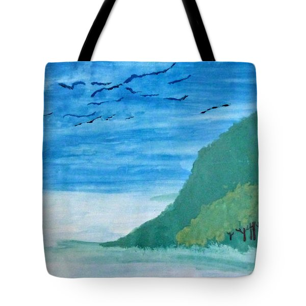Forest Edge Tote Bag