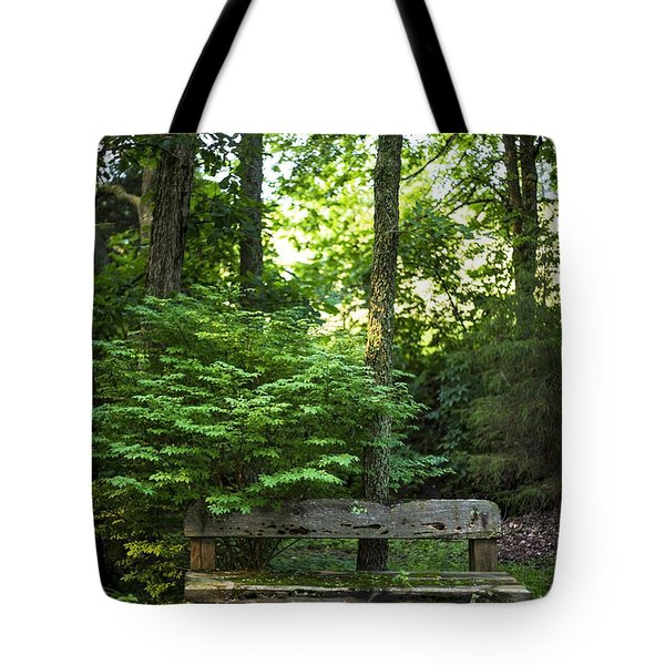 Tote Bag featuring the photograph Forest Environment by Richard J Thompson