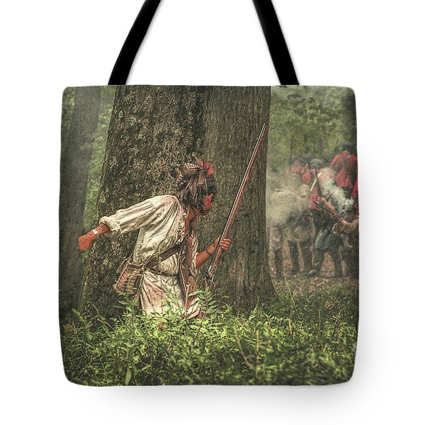 Forest Fight Tote Bag