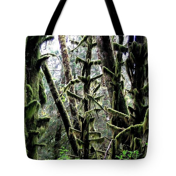 Forest Finery Tote Bag by Will Borden