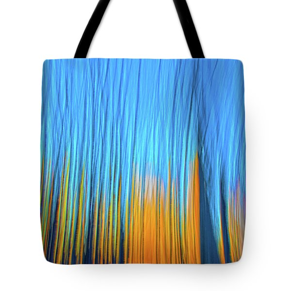 Tote Bag featuring the photograph Forest Fire by Tony Beck